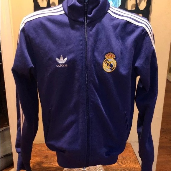 3e322209e adidas Jackets & Coats | Real Madrid Soccer Jacket Mens Small | Poshmark